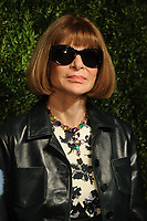 NEW YORK, NY - NOVEMBER 6: Anna Wintour at the 14th Annual CFDA Vogue Fashion Fund Gala at Weylin in Brooklyn, New York City on November 6, 2017. Credit: John Palmer/MediaPunch /NortePhoto.com