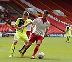 Diego De Girolamo of Sheffield Utd in action during the PDL U21 Final at Bramall Lane Sheffield. Photo credit should read: Simon Bellis/Sportimage