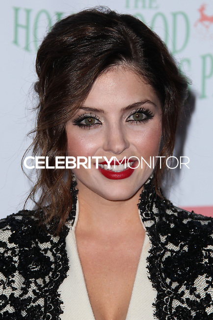 HOLLYWOOD, CA - DECEMBER 01: Jen Lilley arriving at the 82nd Annual Hollywood Christmas Parade held at Hollywood Boulevard on December 1, 2013 in Hollywood, California. (Photo by Xavier Collin/Celebrity Monitor)