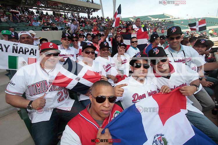 fans de Republica Dominicana   durante  la Serie del Caribe 2013  de Beisbol,  Puerto Rico  vs Republica Dominicana ,  en el estadio Sonora el 2 de febrero de 2013...© (foto:Baldemar de los Llanos/NortePhoto)........during the 2013 Caribbean Series Baseball, Puerto Rico vs Dominican Republic in Sonora Stadium on February 2, 2013 ...© (photo: Baldemar of Llanos / NortePhoto)...http://mlb.mlb.com/mlb/events/winterleagues/league.jsp?league=cse