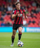 Connor Mahoney of AFC Bournemouth during the Friendly match between Bournemouth and Valencia  at the Goldsands Stadium, Bournemouth, England on 30 July 2017. Photo by Andy Rowland.
