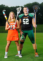 Kettle Run Athletes of the Year Morgan Rodgers and Jacob Schwind.