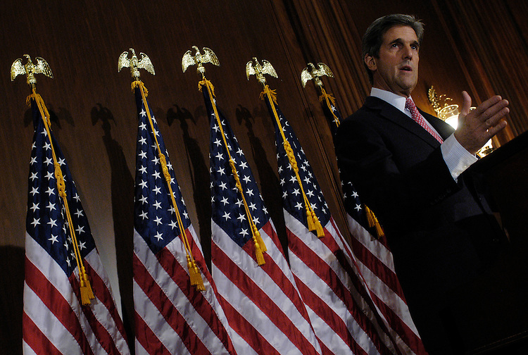 Sen. John Kerry, D-Ma., responds to President Bush's speech about the war in Iraq.
