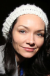 Katrina Lenk with Cast of acclaimed Broadway-bound play 'Indecent' meet their Off-Broadway counterparts in 'God of Vengeance' at La Mama on January 10, 2017 in New York City.