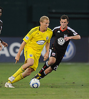Columbus Crew midfielder Steven Lenhart (32)   The Columbus Crew defeated DC United 1-0 at RFK Stadium, Saturday September 4, 2010.