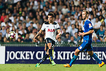 Tottenham Hotspur Midfielder Dele Alli (L) in action during the Friendly match between Kitchee SC and Tottenham Hotspur FC at Hong Kong Stadium on May 26, 2017 in So Kon Po, Hong Kong. Photo by Man yuen Li  / Power Sport Images