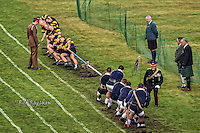 Braemar Gathering Tug O War aerial view