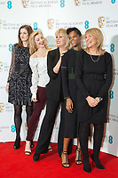 www.acepixs.com<br /> <br /> January 9 2018, London<br /> <br /> (L-R) Amanda Berry, Natalie Dormer, Joanna Lumley, Letitia Wright and Jane Lush taking part at The EE British Academy Film Award, BAFTA, nominations announcement at BAFTA on January 9, 2018 in London, England.<br /> <br /> By Line: Famous/ACE Pictures<br /> <br /> <br /> ACE Pictures Inc<br /> Tel: 6467670430<br /> Email: info@acepixs.com<br /> www.acepixs.com