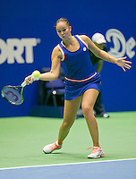 21-12-13,Netherlands, Rotterdam,  Topsportcentrum, Tennis Masters, Lesley Kerkhove(NED)<br /> Photo: Henk Koster
