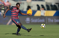 Santa Clara, CA - Wednesday July 26, 2017: Jozy Altidore during the 2017 Gold Cup Final Championship match between the men's national teams of the United States (USA) and Jamaica (JAM) at Levi's Stadium.