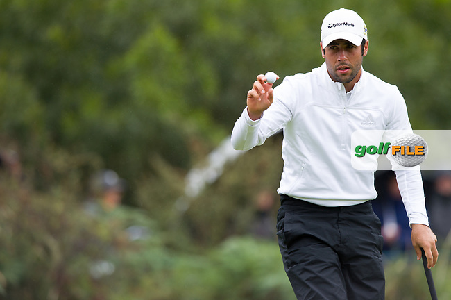 Adrian Otaegui (ESP) during the second day of the World cup of Golf, The Metropolitan Golf Club, The Metropolitan Golf Club, Victoria, Australia. 23/11/2018<br /> Picture: Golffile | Anthony Powter<br /> <br /> <br /> All photo usage must carry mandatory copyright credit (© Golffile | Anthony Powter)