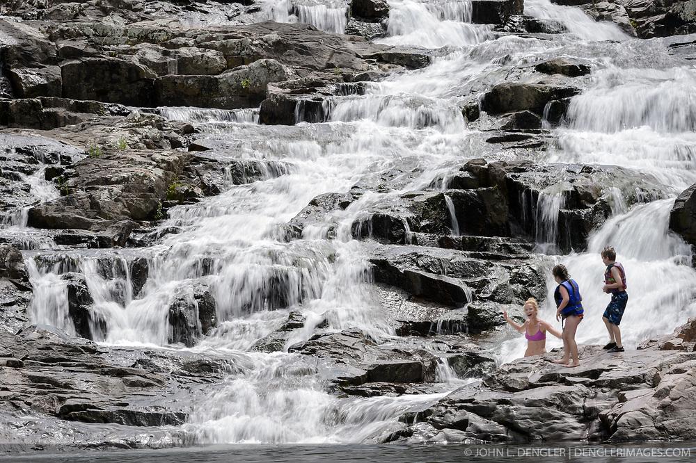 Rocky Falls Ozark National Scenic Riverways Dengler
