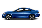 Car Driver side profile view of a 2020 Audi A5-Coupe Premium-plus 2 Door Coupe Side View
