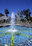 Fountain at Balboa Park