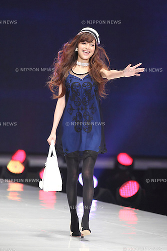 Anna Kay, March 20, 2013 : Chinese model Anna Kay attends Tokyo Fashion Week on March 2oth 2013 in Tokyo, Japan. (Photo by Mooto Naka/Aflo)