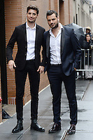 www.acepixs.com<br /> March 1, 2017 New York City<br /> <br /> Luka Sulic and Stjepan Hauser, together known as 2CELLOS made an appearance on 'The View' in New York City on March 1, 2017.<br /> <br /> Credit: Kristin Callahan/ACE Pictures<br /> <br /> Tel: 646 769 0430<br /> Email: info@acepixs.com<br /> www.acepixs.com