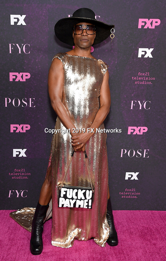 "LOS ANGELES - JUNE 1: Cast member Billy Porter attends the FYC Event for Fox 21 TV Studios & FX Networks ""Pose"" at The Hollywood Athletic Club on June 1, 2019 in Los Angeles, California. (Photo by Stewart Cook/FX/PictureGroup)"