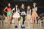 (L-R) Mikiko Yano, Kozue Akimoto, Lena Fujii, Tsubasa Masukawa, Yukimi Matsuo: June 22, 2013, Singapore - The inaugural ASIA STYLE COLLECTION 2013 is a celebration of Asian pop culture, combining fashion and music in an amazing one-day extravaganza. The event features the first-ever collaboration of Korea K-POP COLLECTION and Japan TOKYO GIRLS COLLECTION. (Photo by Haruhiko Otsuka/Nippon News)