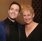 Randy Rainbow and Liz Callaway attend the Abingdon Theatre Company Gala honoring Donna Murphy on October 22, 2018 at the Edison Ballroom in New York City.