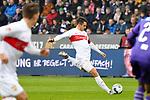 09.11.2019, Stadion an der Bremer Brücke, Osnabrück, GER, 2. FBL, VfL Osnabrueck vs. VfB Stuttgart<br /> <br /> ,DFL REGULATIONS PROHIBIT ANY USE OF PHOTOGRAPHS AS IMAGE SEQUENCES AND/OR QUASI-VIDEO, <br />   <br /> im Bild<br /> Marc Oliver Kempf (VfB Stuttgart #4), Torchance<br /> <br /> <br /> Foto © nordphoto / Paetzel