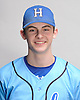 Billy Huber of Hauppauge poses for a portrait during the Newsday varsity baseball season preview photo shoot at company headquarters on Thursday, Mar. 10, 2016.