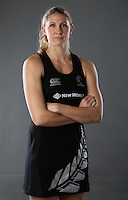 09.09.2013 Silver Fern Casey Williams in Auckland. Mandatory Photo Credit ©Michael Bradley.
