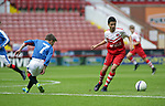 Action between Rangers v Charlton Athletic in the Youdan Trophy Final. Photo by Glenn Ashley
