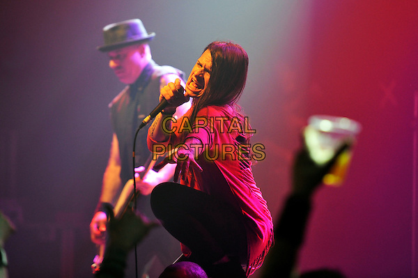 LONDON, ENGLAND - March 17: Mina Caputo of 'Life Of Agony' performing at Camden Electric Ballroom on March 17, 2016 in London, England.<br /> CAP/MAR<br /> &copy; Martin Harris/Capital Pictures