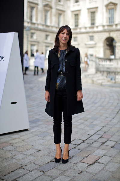 Samantha Cameron at London Fashion Week
