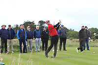 Casey Jarvis (RSA) on the 15th tee during Round 4 of The East of Ireland Amateur Open Championship in Co. Louth Golf Club, Baltray on Monday 3rd June 2019.<br /> <br /> Picture:  Thos Caffrey / www.golffile.ie<br /> <br /> All photos usage must carry mandatory copyright credit (© Golffile | Thos Caffrey)