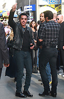 NEW YORK, NY - OCTOBER 4: Lionel Richie and Luke Bryan at Good Morning America promoting the new season of America Idol in New York City on October 4, 2017. <br /> CAP/MPI/RW<br /> &copy;RW/MPI/Capital Pictures