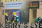 On Tuesday evening around 8.00pm a fire broke out at High Street, Tralee in the Blue Team GSM (Studio Solarium, Sun Tanning Building.................................................................... ........