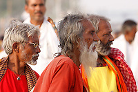 Kumbh Mela is the largest pilgrimage festival known to man, it occurs after every 12 years in Haridwar, India. This year Haridwar Maha Kumbh bathing dates fall when Venus & Jupiter coincides with Aquarius Sun & Moon is on the Aries and Sagittarius, respectively. It's widely believed that taking a dip at any of the Holy Rivers like Ganges, Yamuna & celestial Sarawati at Parayag (Sangam at Allahbad) offers purity, wealth, and fertility and wash away the sins of those who bath in it. The main & common reason for one to attend the holy festival of Kumbh Mela is to take dip in Holy Ganges. It is said that a holy dip in sacred rivers during such Kumbh festival takes human out of the circle of life & death (Moksha)..The origin of the Kumbh is very old and dates back to the mystical time when the demigods and demons assembled together on the shore of a mythological ocean of milk and churned the sea to produce the nector of immortality (the Amrit). It was agreed to be shared equally between them afterwards. The mystical Mandara Mountain was used as churning rod and Vasuki, the mythological king of all serpents, became the rope for churning. With the demigods at Vasuki's tail and the demons at his head, they churned the ocean for 10, 000 years and produced one pot of nectar. The demigods were fearful of what would happen if and demons drank their share. So they stole away the pot and tried to hide it. This resulted into a great and prolonged chase which lasted 12 symbolic days and nights during which the demigods and demons went round the earth. The demigods put nectar pot (Amrita Kalasha) at Haridwar, Prayag, Ujjain and Nasik, where such Kumbh Melas are organized periodically to commemorate this holy event every 12 years.