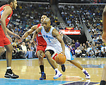The New Orleans Hornets defeat the LA Clippers, 98-87, at the New Orleans Arena. Images within this gallery are not available for purchase or further redistribution and are displayed solely as a representation of my photography.