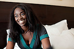 Cannes, France. May 13th 2010..French actress Aissa Maiga at the Gray d'Albion Hotel