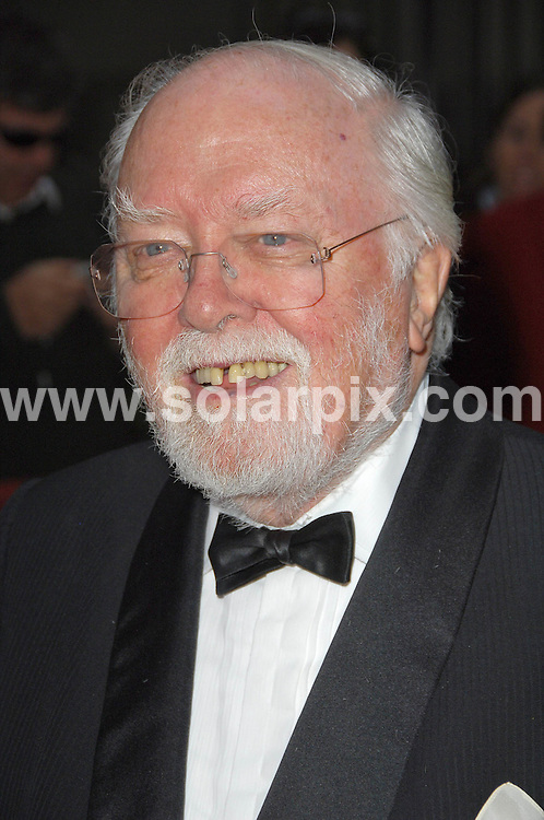 **ALL ROUND PICTURES FROM SOLARPIX.COM** **WORLDWIDE SYNDICATION RIGHTS** .Award winners and presenters attend the Galaxy British Book Awards 2008. Held at the Grosvenor, Park Lane, Mayfair, London. April 09 2008. .This pic: Lord Richard Attenborough.JOB REF:   6139   MSR    DATE:  09.04.08.**MUST CREDIT SOLARPIX.COM OR DOUBLE FEE WILL BE CHARGED* *UNDER NO CIRCUMSTANCES IS THIS IMAGE TO BE REPRODUCED FOR ANY ONLINE EDITION WITHOUT PRIOR PERMISSION*