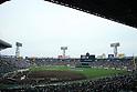 Hanshin Koshien Stadium, MARCH 31, 2016 - Baseball : A general view. Players parade during the closing ceremony after the 88th National High School Baseball Invitational Tournament final game between Takamatsu Shogyo 1-2 Chiben Gakuen at Koshien Stadium in Hyogo, Japan. (Photo by Katsuro Okazawa/AFLO)