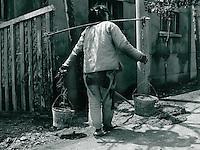 Arbeiterin in Suzhou, China 1976