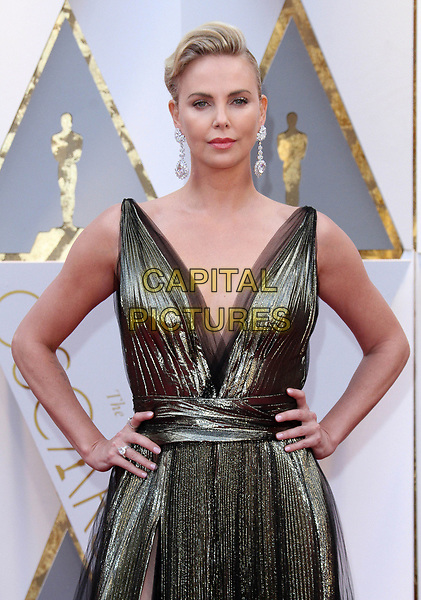 26 February 2017 - Hollywood, California - Charlize Theron. 89th Annual Academy Awards presented by the Academy of Motion Picture Arts and Sciences held at Hollywood &amp; Highland Center. <br /> CAP/ADM<br /> &copy;ADM/Capital Pictures