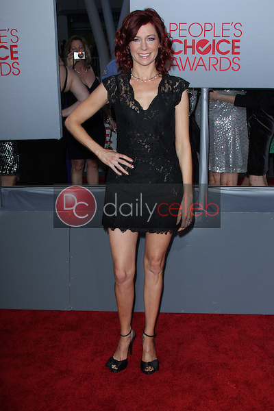 Carrie Preston<br /> at the 2012 People's Choice Awards Arrivals, Nokia Theatre. Los Angeles, CA 01-11-12<br /> David Edwards/DailyCeleb.com 818-249-4998