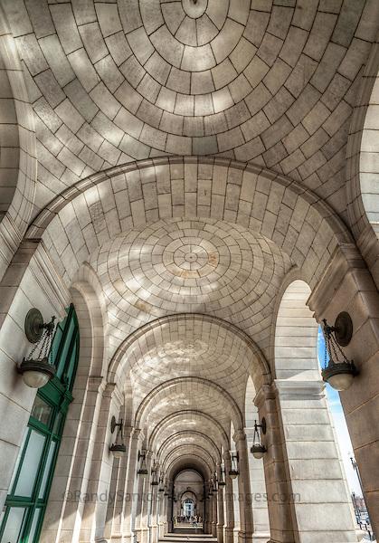 Union Station Interior Washington DC Architecture