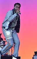 SAN FRANCISCO, CALIFORNIA - AUGUST 11: Leon Bridges performs during the 2019 Outside Lands Music And Arts Festival at Golden Gate Park on August 11, 2019 in San Francisco, California. Photo: imageSPACE/MediaPunch
