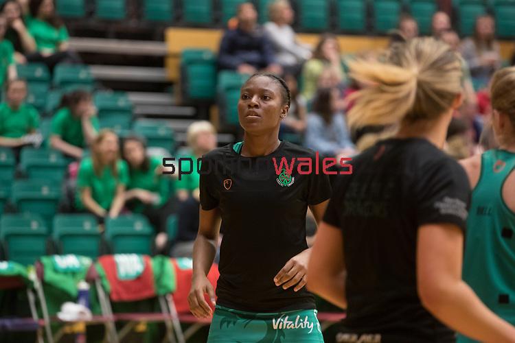 Vitality Super League<br /> Celtic Dragons v Loughborough<br /> Welsh Institute of Sport<br /> 03.04.17<br /> ©Steve Pope-Sportingwales