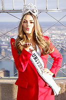 Miss Universe 2017 Demi-Leigh Nel-Peters Visits The Empire State Building