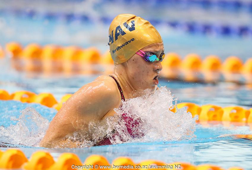 Ciara Smith. Swimming New Zealand Aon National Age Group Championships, Wellington Regional Aquatic Centre, Wellington, New Zealand, Wednesday 17 April 2019. Photo: Simon Watts/www.bwmedia.co.nz