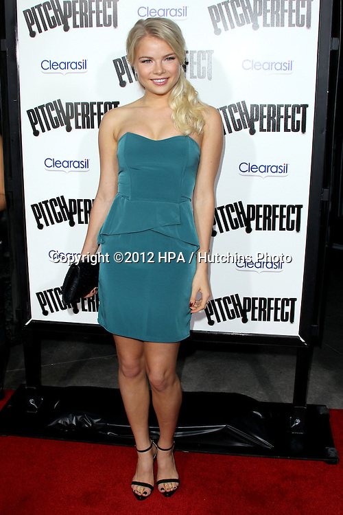 "LOS ANGELES - SEP 24:  Kelli Goss arrives at the ""Pitch Perfect'"" Premiere at ArcLight Cinemas on September 24, 2012 in Los Angeles, CA"