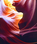 USA, Arizona, Antelope Slot Canyon in Arizona