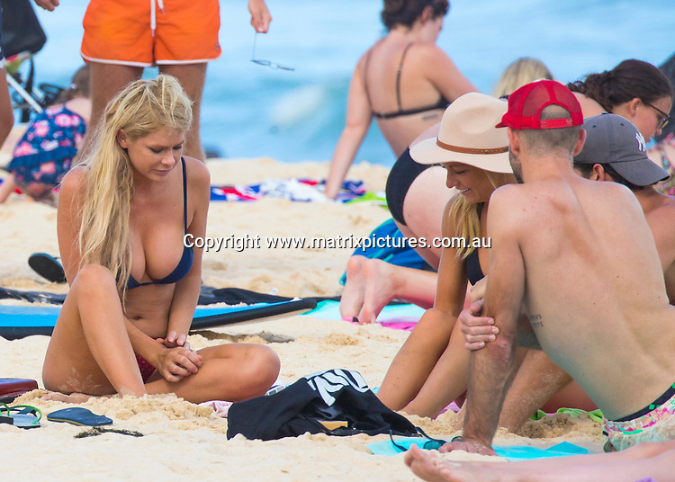 12 NOVEMBER 2016 SYDNEY AUSTRALIA<br /> WWW.MATRIXPICTURES.COM.AU<br /> <br /> EXCLUSIVE PICTURES <br /> <br /> Megan Marx pictured with Tiffany Scanlan and Noni Janur at Bondi Beach<br /> <br /> *No web without clearance*.<br /> <br /> MUST CALL PRIOR TO USE <br /> <br /> +61 2 9211-1088. <br /> <br /> Note: All editorial images subject to the following: For editorial use only. Additional clearance required for commercial, wireless, internet or promotional use.Images may not be altered or modified. Matrix Media Group makes no representations or warranties regarding names, trademarks or logos appearing in the images.