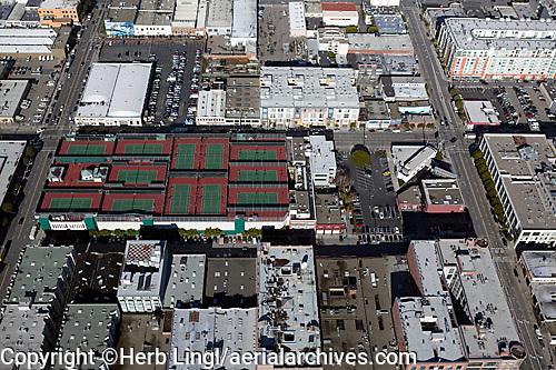 aerial photograph San Francisco Tennis Club, California
