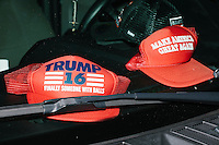 Donald Trump - Trump Hats - Coconut Grove, FL - 9 October 2016